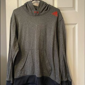 Adidas pull over sweater